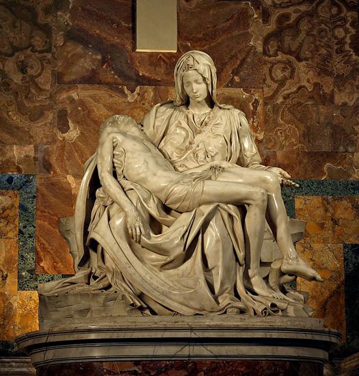 ミケランジェロの彫刻1:ルネサンス美術 - 続 壺 齋 閑 話
